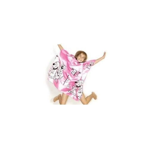 Gyerek hajvágó kendő (Pink Plútó kutyás) Hair Tools