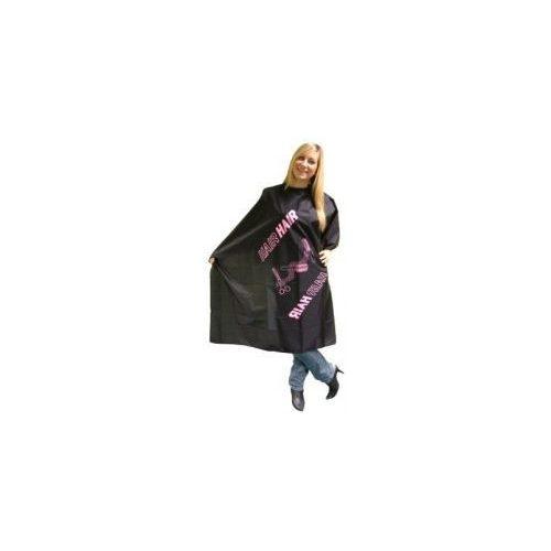 Black/Pink hajvágó és festő kendő