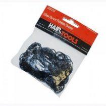 Fekete mini hajgumi (Hair Tools)