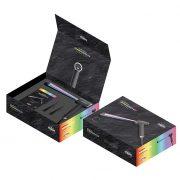 GAMMA PIÚ Korner XL Rainbow kúpos hajsütővas